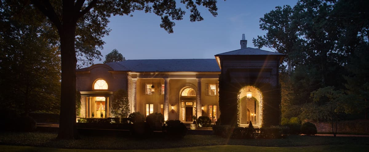 Belle Meade Villa with Pool, Fountain, Stables, Wine Cellar and Barn in Nashville Hero Image in undefined, Nashville, TN