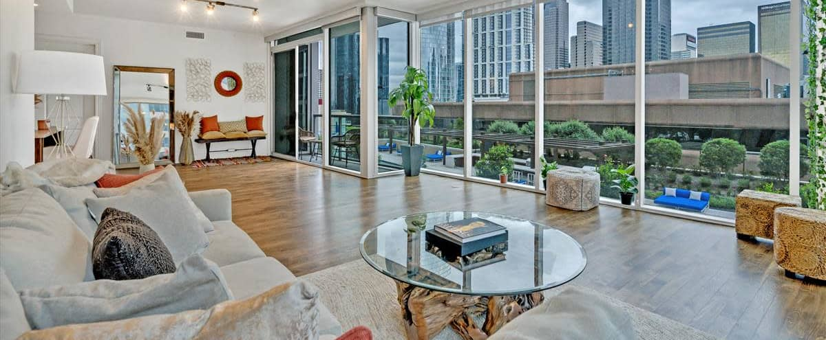 Uptown Spacious Luxury Loft with Pool View in Dallas Hero Image in Uptown, Dallas, TX