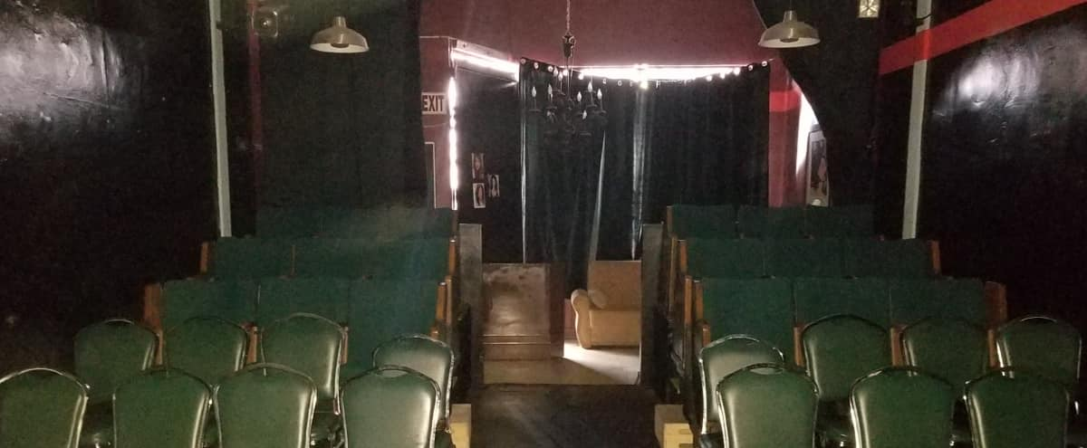 Intimate Theater / Studio with two levels, lobby and office space in Hollywood in Los Angeles Hero Image in Central LA, Los Angeles, CA