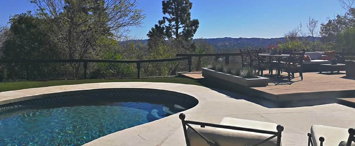 Open Modern Home with Views on Large Deck in West Hills Hero Image in undefined, West Hills, CA