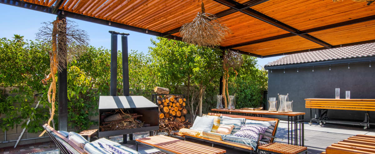 Wellness/Yoga Retreat: Private House With a Large Garden and Outdoor Yoga Decks in Palm Springs Hero Image in undefined, Palm Springs, CA