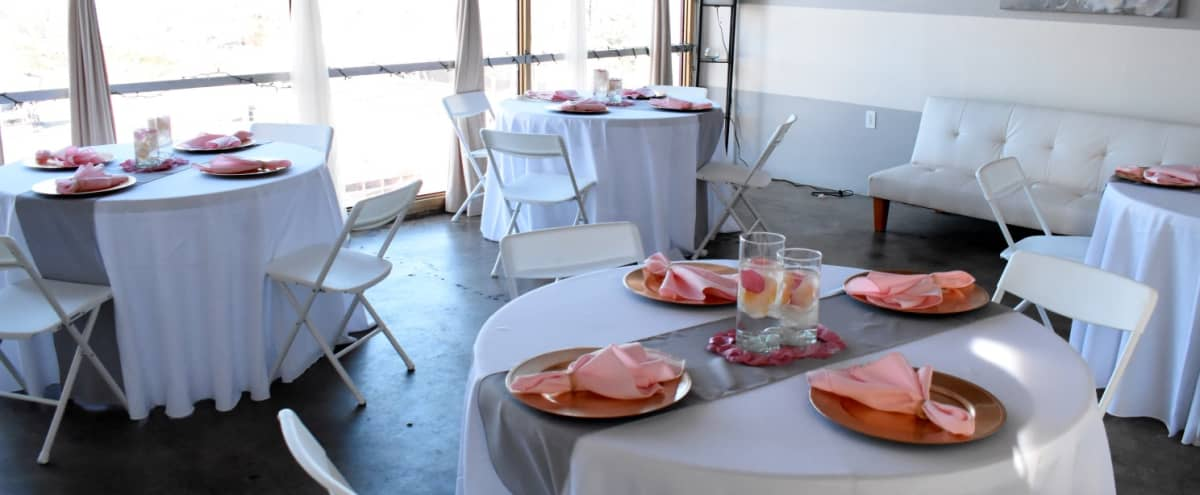 Cozy Luxury Loft Space For Private Events With View and Plush Decorations in East Point Hero Image in Downtown, East Point, GA