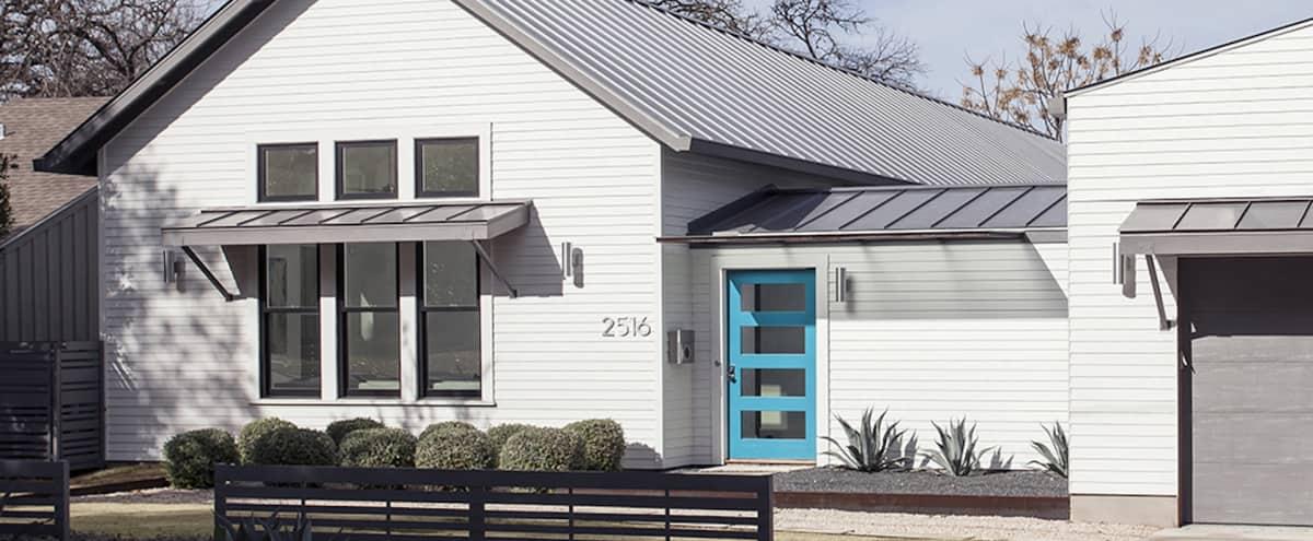 Modern Urban Farmhouse with Pool in Austin Hero Image in Tarrytown, Austin, TX