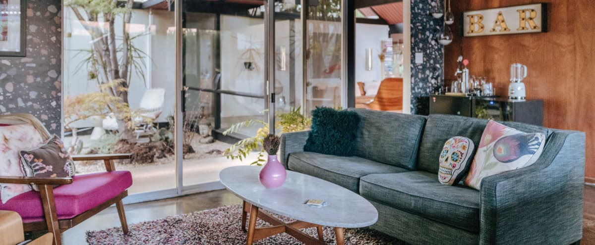 Iconic Eichler (Mid Century Modern) Oasis - Atrium, Open Floor Plan, Windows Galore, Palm Springs Outdoor Space in Walnut Creek Hero Image in Ygnacio Valley, Walnut Creek, CA