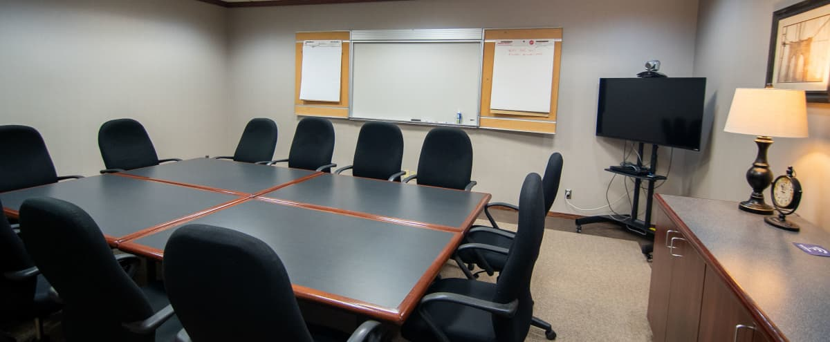 Fully Equipped Conference Space w/ Whiteboard + TV in Livonia Hero Image in undefined, Livonia, MI
