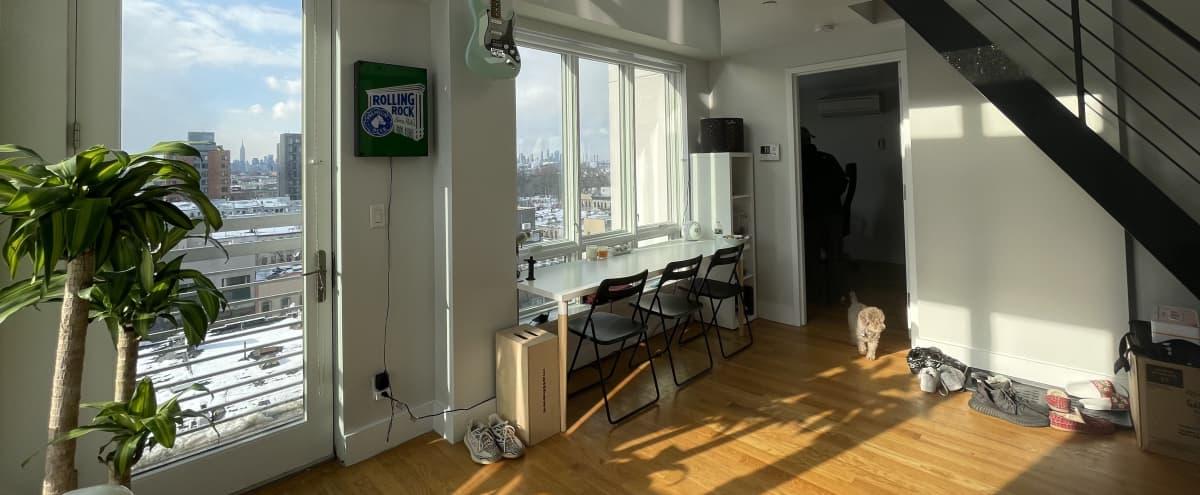 Bushwick Penthouse with City Views in Brooklyn Hero Image in Bushwick, Brooklyn, NY