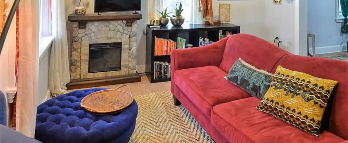 Bohemian Townhouse in a Quiet Part of the City in Camden Hero Image in Fairview, Camden, NJ