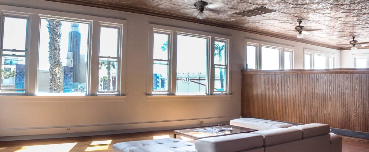 4000 sqft Open Creative Space with Tons of Natural Light and Hardwoods with a Historic-Building-Meets-Brooklyn Vibe in Oceanside Hero Image in Townsite, Oceanside, CA