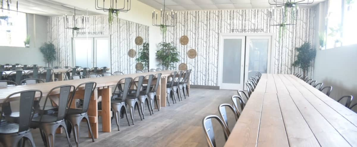 Sophisticated Boho Indoor Event Space in Long Beach Hero Image in undefined, Long Beach, CA