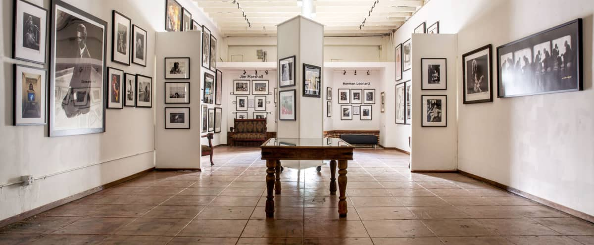 Elegant Gallery with Indoor & Outdoor Event Space on Sunset Strip in Hollywood Hero Image in Central LA, Hollywood, CA