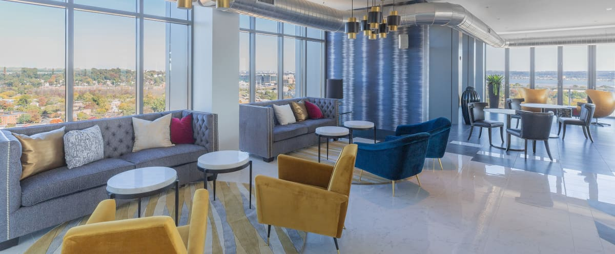 Spacious Sky Lounge with Sweeping Views of DC, Alexandria and MD in Alexandria Hero Image in Del Ray, Alexandria, VA