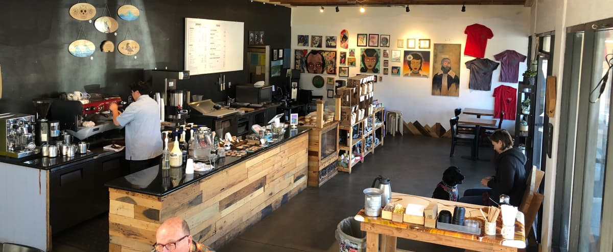 Spacious, Artsy Coffee Shop with Open Floor Plan Minutes from SF in Pacifica Hero Image in Edgemar - Pacific Manor, Pacifica, CA
