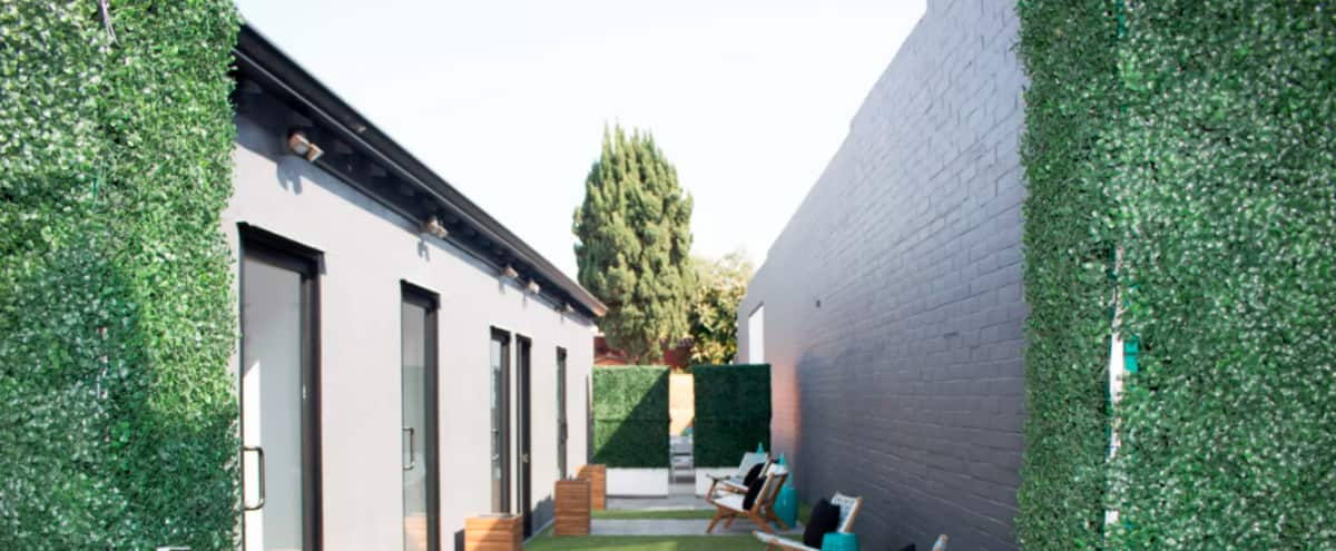 Culver City Outdoor Workspaces and Private Offices Coworking in CULVER CITY Hero Image in Lucerne - Higuera, CULVER CITY, CA