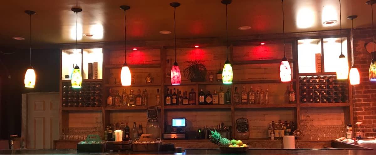 Contemporary Restaurant/Lounge/Event Space in Bridgeport Hero Image in The Hollow, Bridgeport, CT