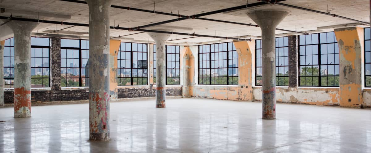 Industrial Loft Style Warehouse with Panoramic Skyline Views in Chicago Hero Image in Bridgeport, Chicago, IL