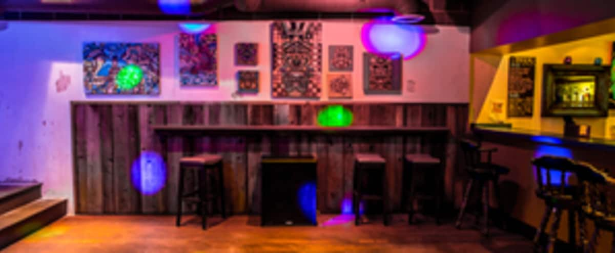 Private Loft in Music Venue with full bar in Oakland Hero Image in Northgate - Waverly, Oakland, CA