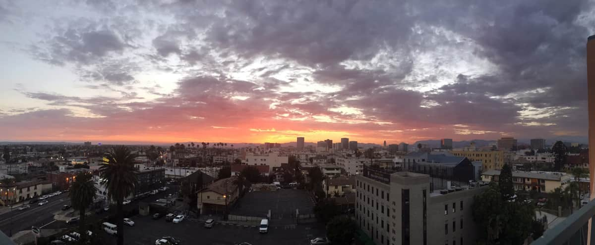 Rooftop with 360º views of LA in Los Angeles Hero Image in Central LA, Los Angeles, CA
