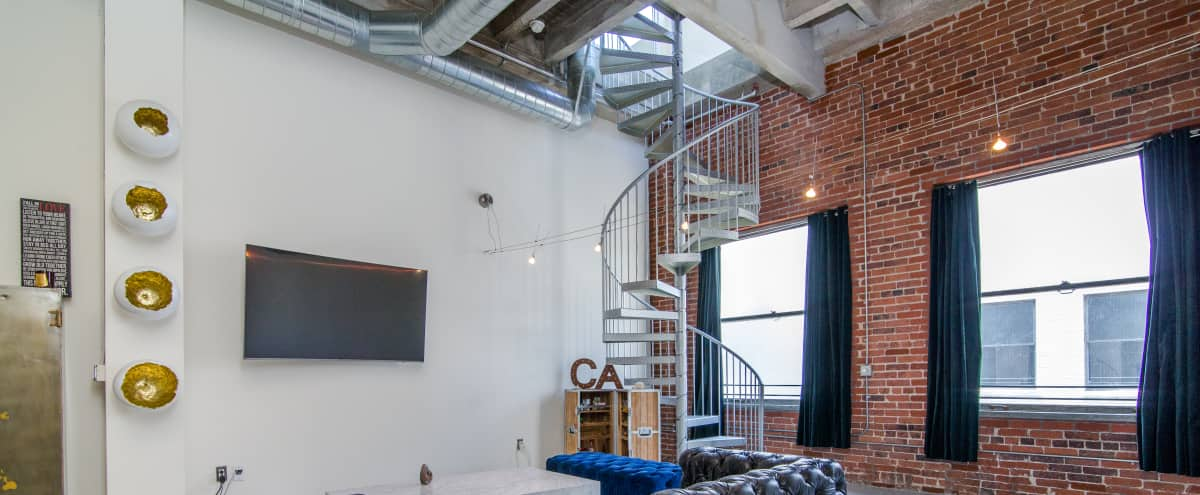 Downtown loft with skyline view and private terrace in Los Angeles Hero Image in Central LA, Los Angeles, CA
