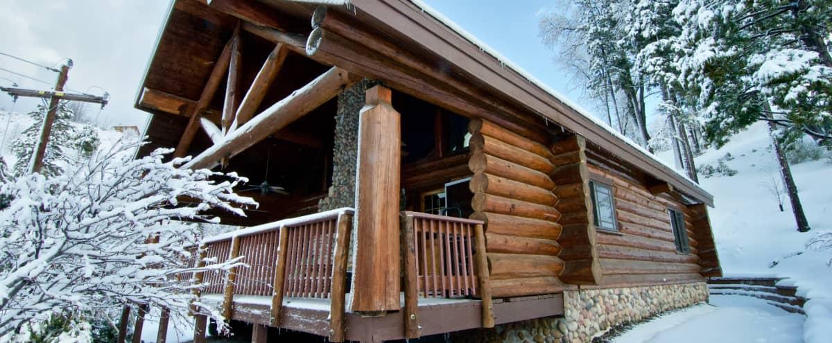 Rustic Log Cabin with Breathtaking Views in Cedar Glen Hero Image in undefined, Cedar Glen, CA
