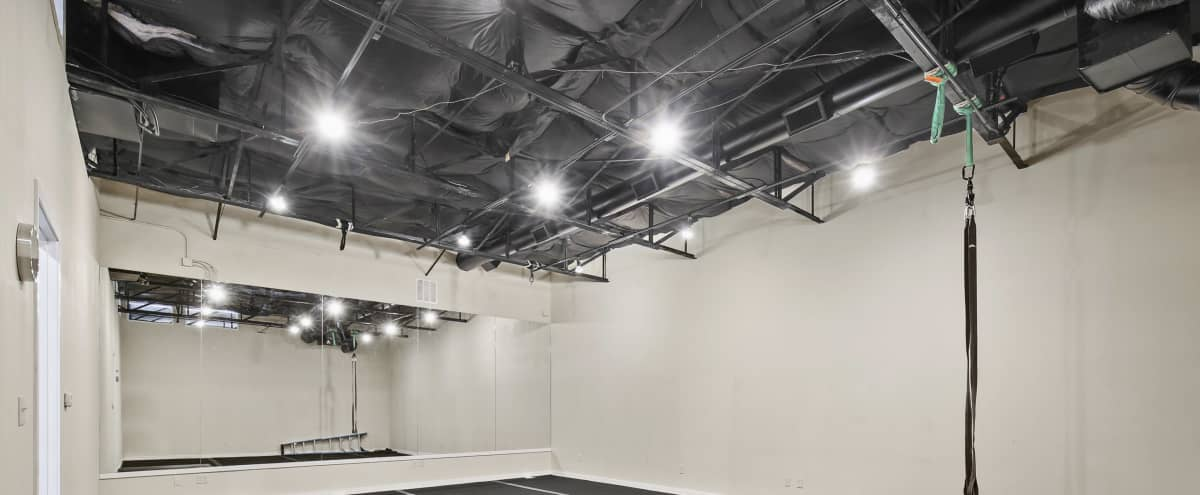 Mirrored Acrobatic Studio with Gymnastic Flooring in Dallas Hero Image in undefined, Dallas, TX