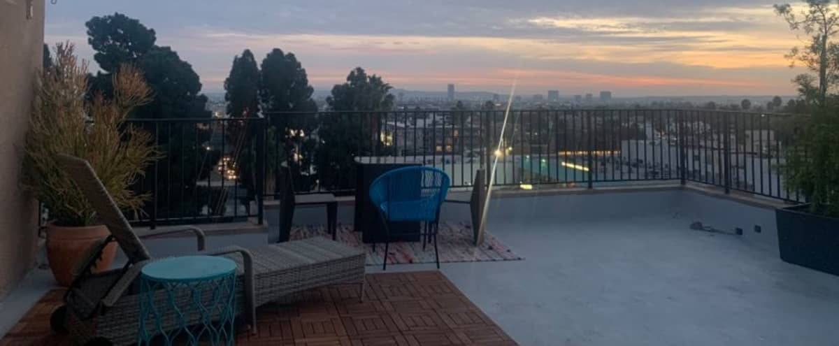 Open Rooftop & Amazing View - Hollywood Pent House in Los Angeles Hero Image in Hollywood, Los Angeles, CA
