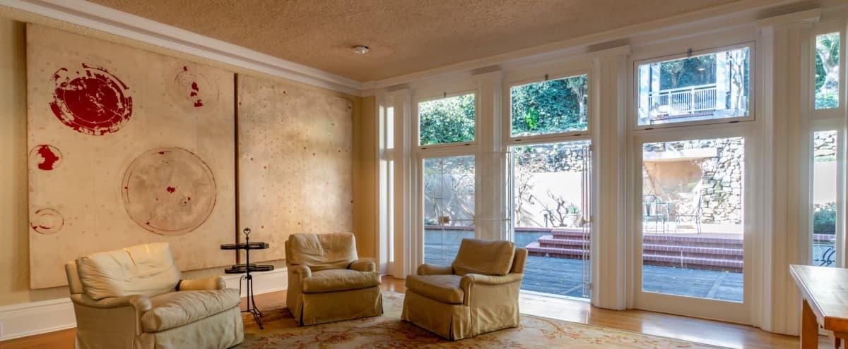 Charming Event Space in Grand Historic Rockridge Residence in Oakland Hero Image in Upper Rockridge, Oakland, CA