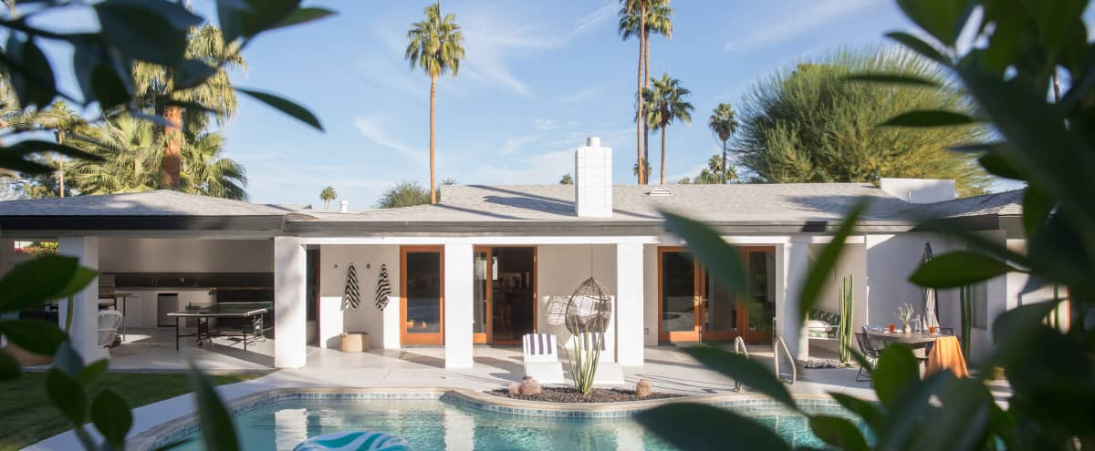 Blue Cactus Desert Dream House in Palm Springs Hero Image in undefined, Palm Springs, CA