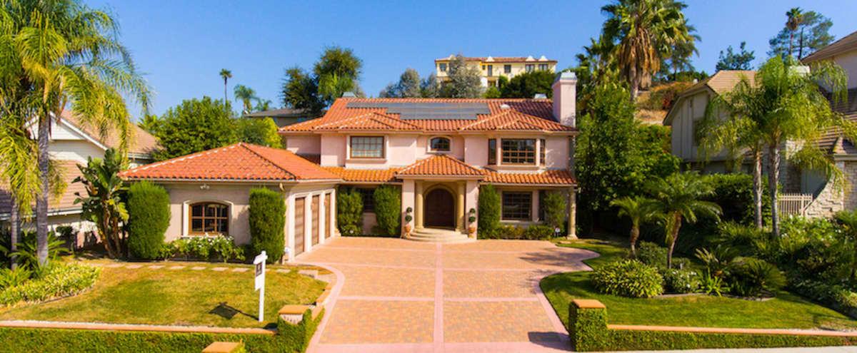 Mediterranean Mansion in Tarzana in Tarzana Hero Image in Tarzana, Tarzana, CA