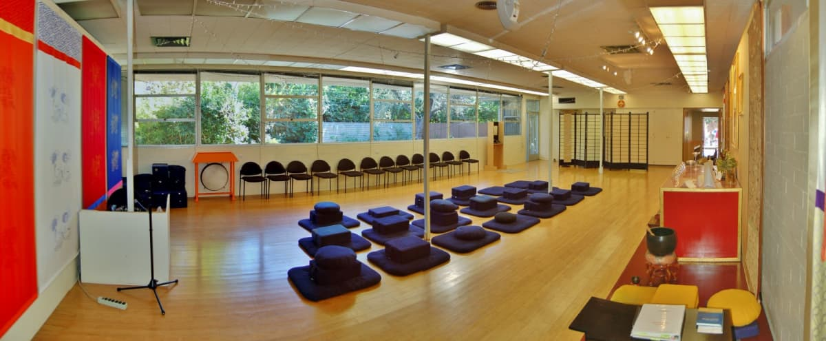 Spacious Meditation Center with Mid-Century Modern Features in Los Angeles Hero Image in Eagle Rock, Los Angeles, CA
