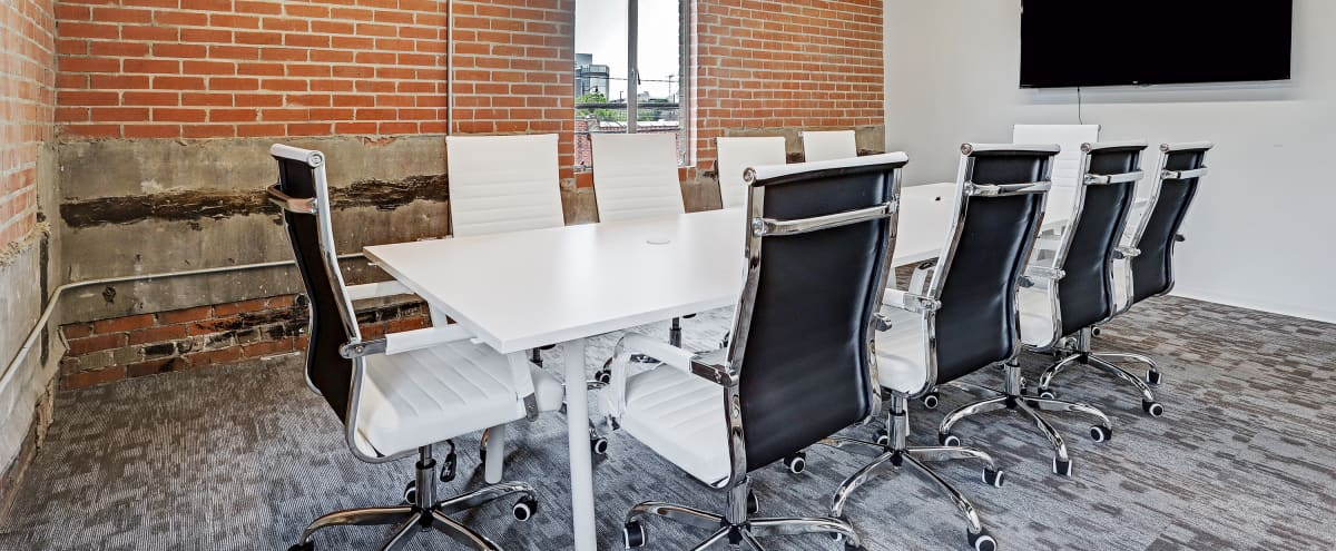Spacious - Modern 10 Person Conference Room - Houston in Houston Hero Image in Montrose, Houston, TX
