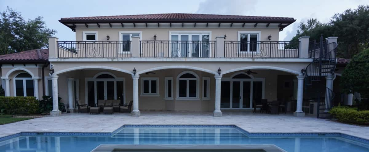 Private Mansion with Spacious Backyard in Miami Hero Image in undefined, Miami, FL