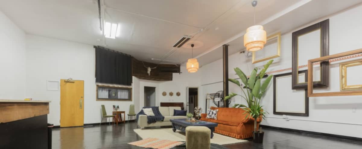 Large unique loft/adapted warehouse space/former underground venue/2000 sq. ft. in Los Angeles Hero Image in Echo Park, Los Angeles, CA