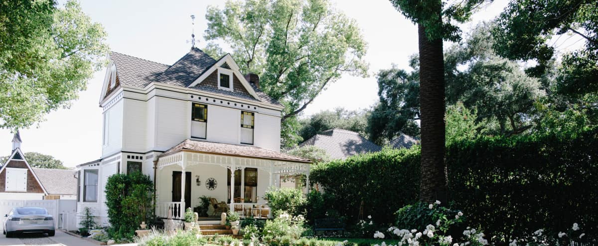Remodeled Folk Victorian Farmhouse With Barn And Gorgeous Exteriors In Pasadena Hero Image