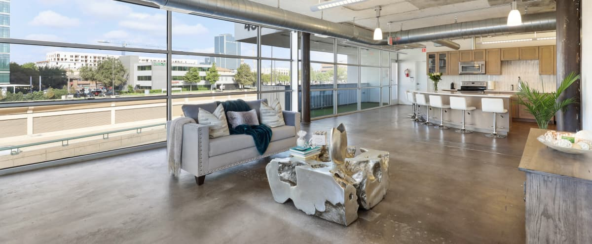 Downtown Loft, Skyline View, Laid Space in Dallas Hero Image in Knox / Henderson, Dallas, TX