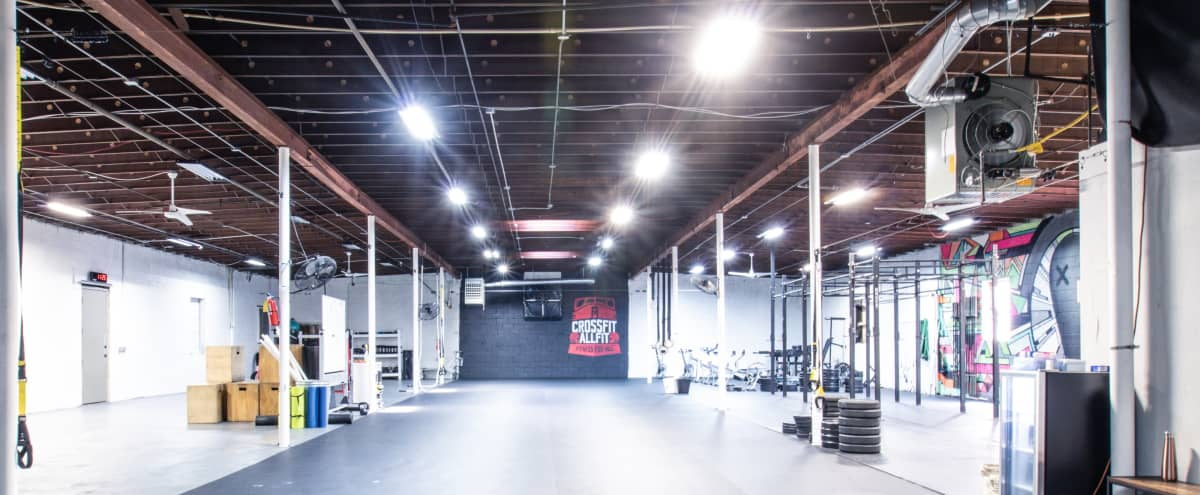 Urban Industrial Warehouse & Gym on Westside Beltline | Ideal for Fitness Related Shoots in Atlanta Hero Image in Capitol View, Atlanta, GA