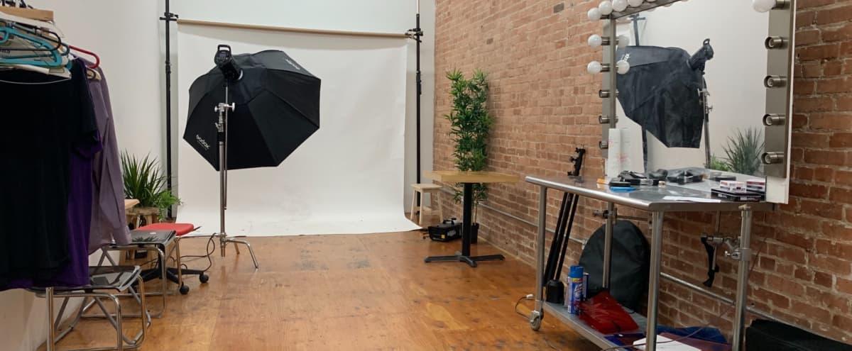 Professional Day light studio with Exposed Brick wall. in Brooklyn Hero Image in Bushwick, Brooklyn, NY