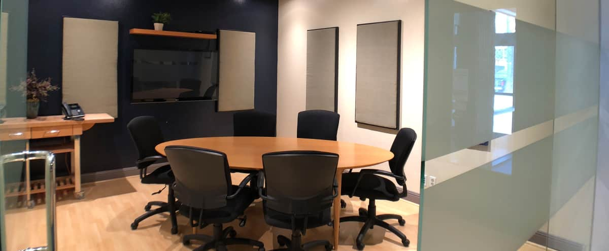 Gorgeous Glass Wall Conference Room in the Heart of Hollywood in Los Angeles Hero Image in Central LA, Los Angeles, CA