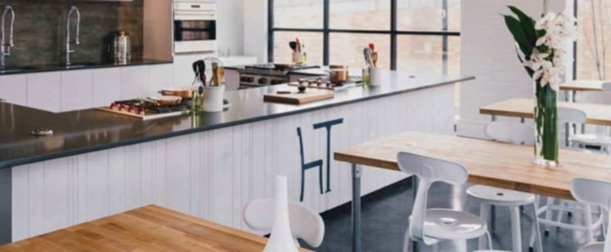 Modern Culinary Studio with beautiful kitchen and amazing light (2 full walls of windows) in Hoboken Hero Image in undefined, Hoboken, NJ