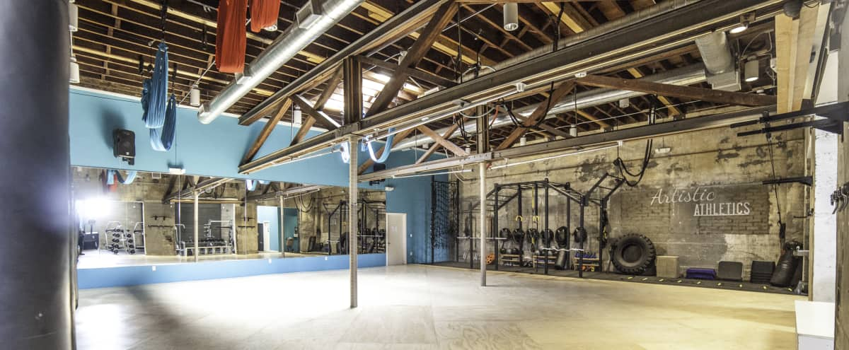 spacious multi use dance/fitness/party/presentation space in Los Angeles Hero Image in Northeast Los Angeles, Los Angeles, CA