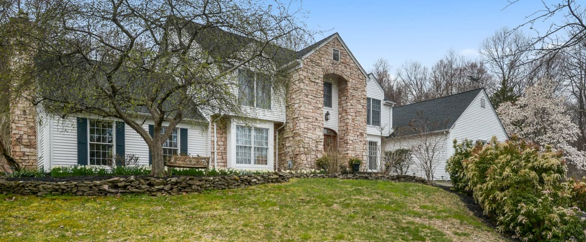 Gorgeous Country Estate with Modern Touches and Flex Space. in Pittstown Hero Image in undefined, Pittstown, NJ