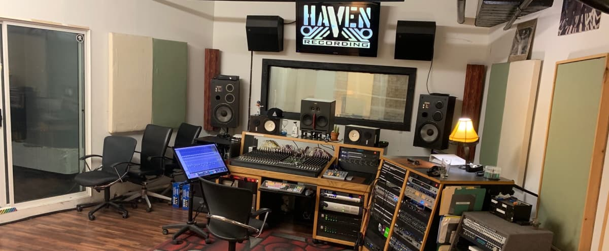 Arts District Recording Studio **Large Space, isolated and sound treated*** in los angeles Hero Image in Central LA, los angeles, CA
