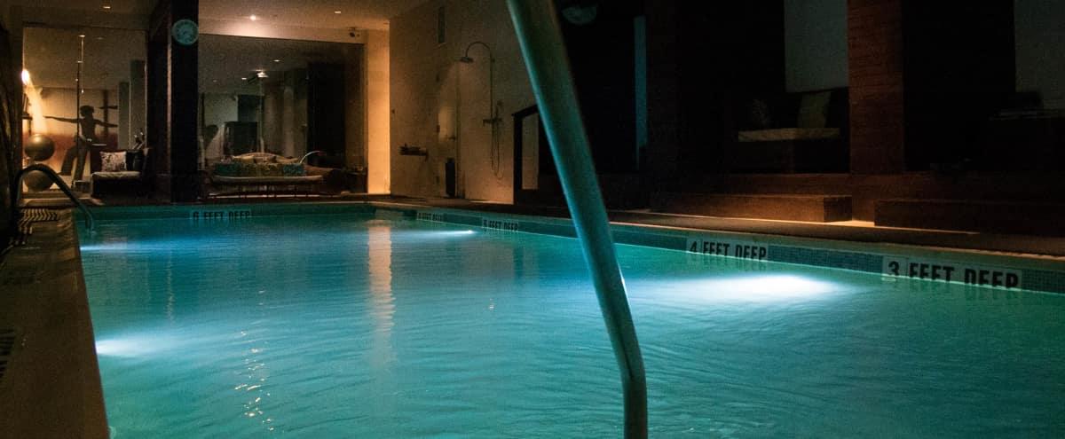 Luxury Williamsburg Condo (Swimming pool + Amenities) in Brooklyn Hero Image in East Williamsburg, Brooklyn, NY