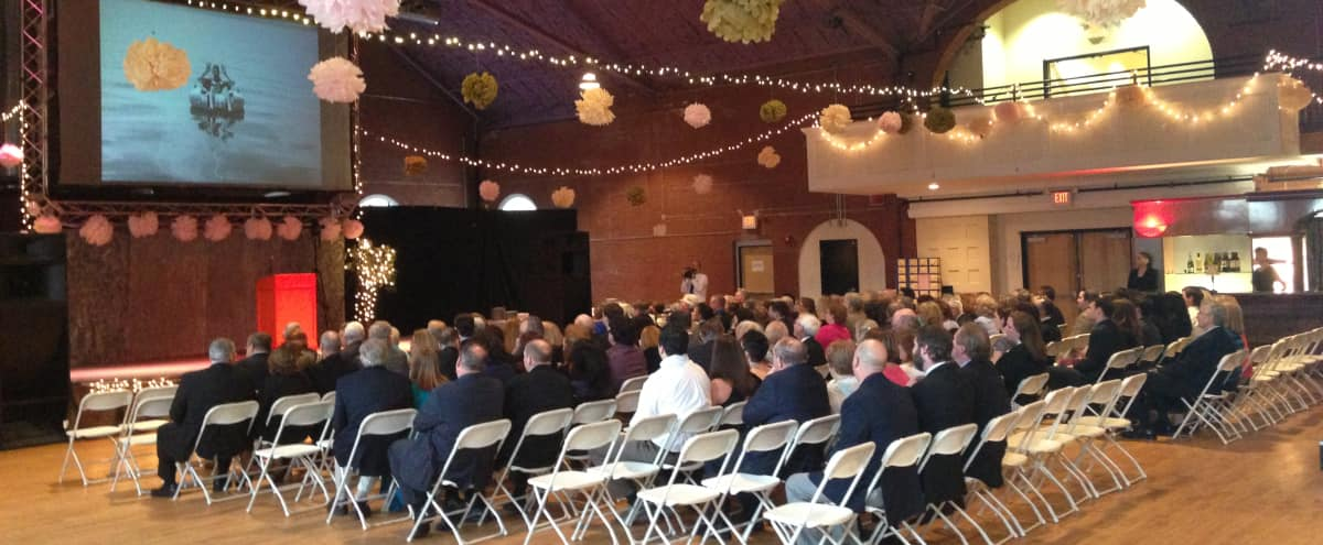 Multipurpose Performance Hall in Somerville | Ideal for Conferences! in Somerville Hero Image in , Somerville, MA