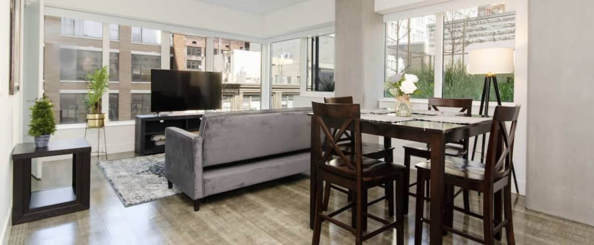 Luxury Modern Downtown Apartment with City Views in Los Angeles Hero Image in Central LA, Los Angeles, CA