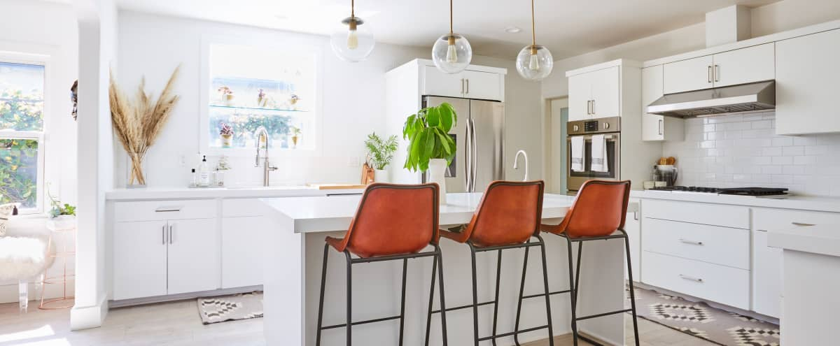 Mid Century x Scandinavian w/ a touch of Boho Home in LA Hero Image in Palms, LA, CA