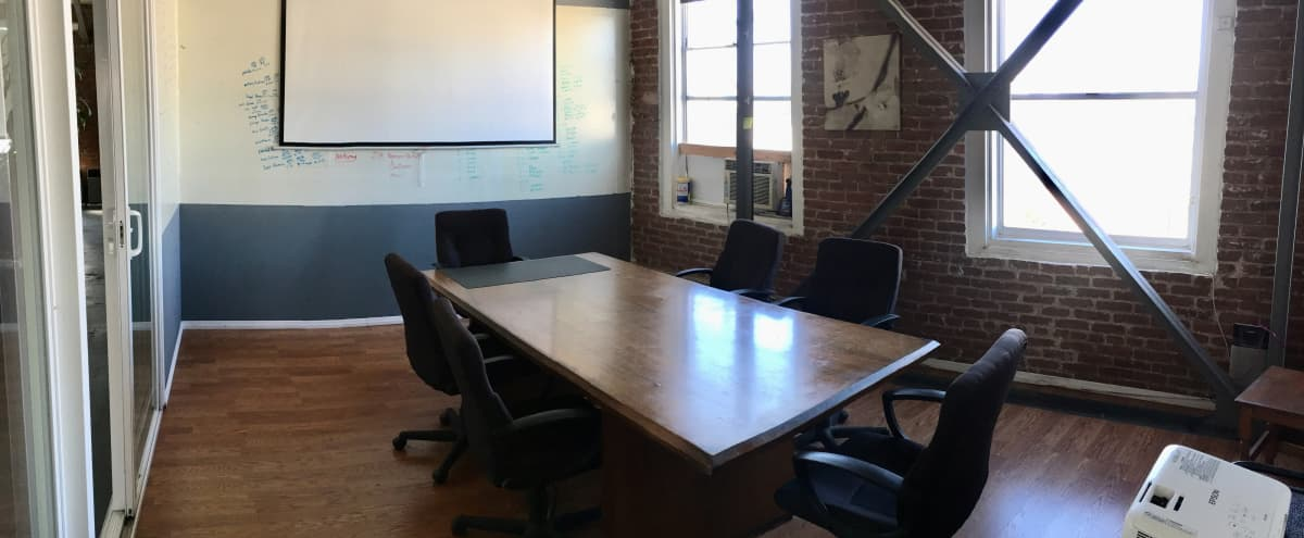 DTLA Conference Room, Open Office/Lounge Space, Private Offices in Los Angeles Hero Image in Central LA, Los Angeles, CA