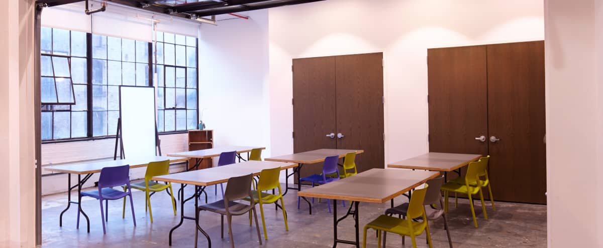 Open and Airy Event Space in Chelsea! [Classroom C] in New York Hero Image in Midtown, New York, NY