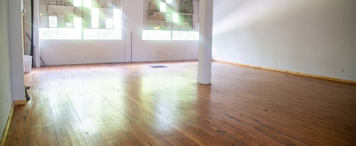 Bright White Spacious Event Space in Old Warehouse with Original Hardwood Flooring in Dickson Hero Image in undefined, Dickson, TN