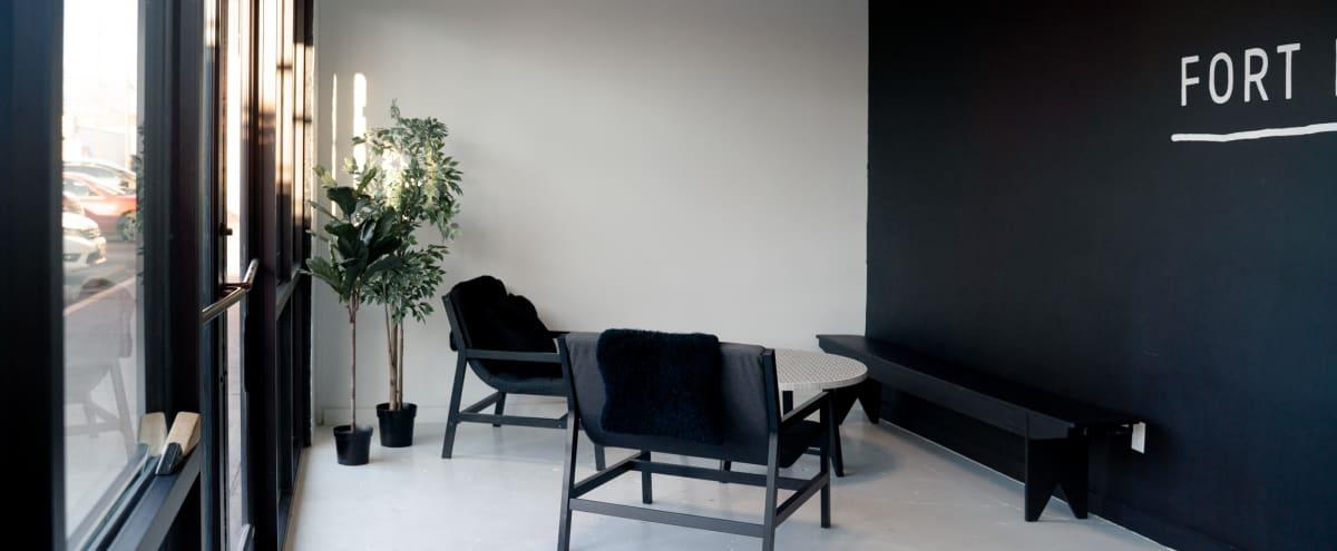 Modern, all White Studio in East Dallas in Dallas Hero Image in Old East Dallas, Dallas, TX