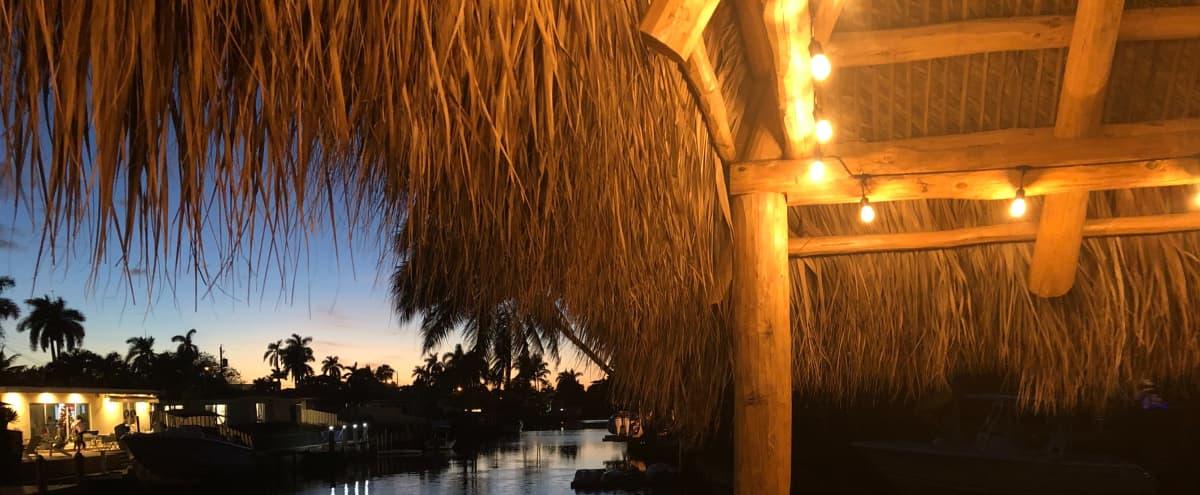 Tiki Sunset Retreat in Fort Lauderdale Hero Image in North Fort Lauderdale, Fort Lauderdale, FL